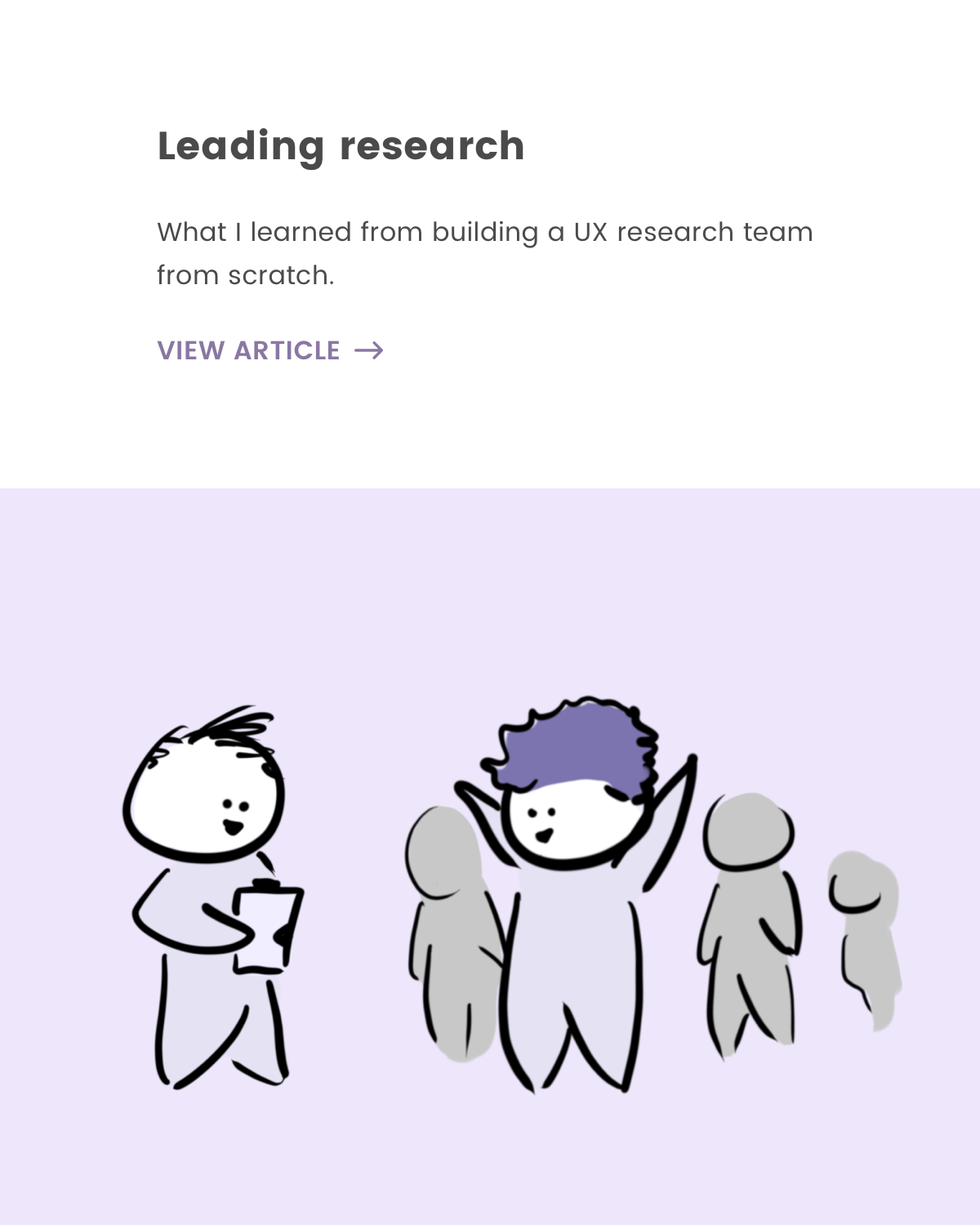 What I learned from building a UX research team from scratch