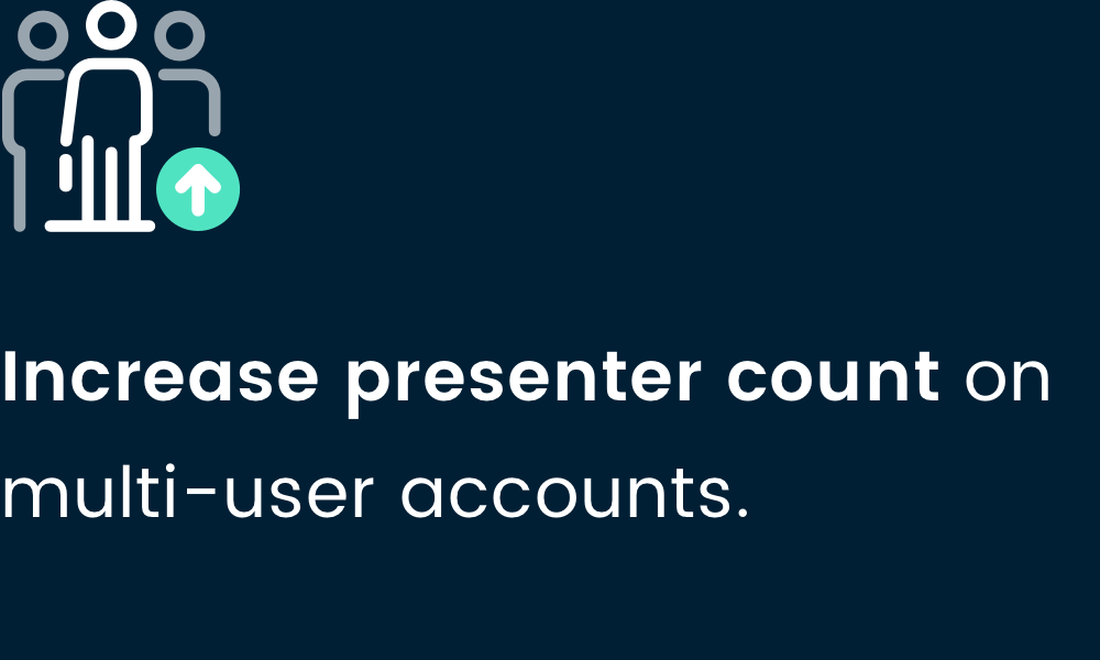 Raise presenter count-4