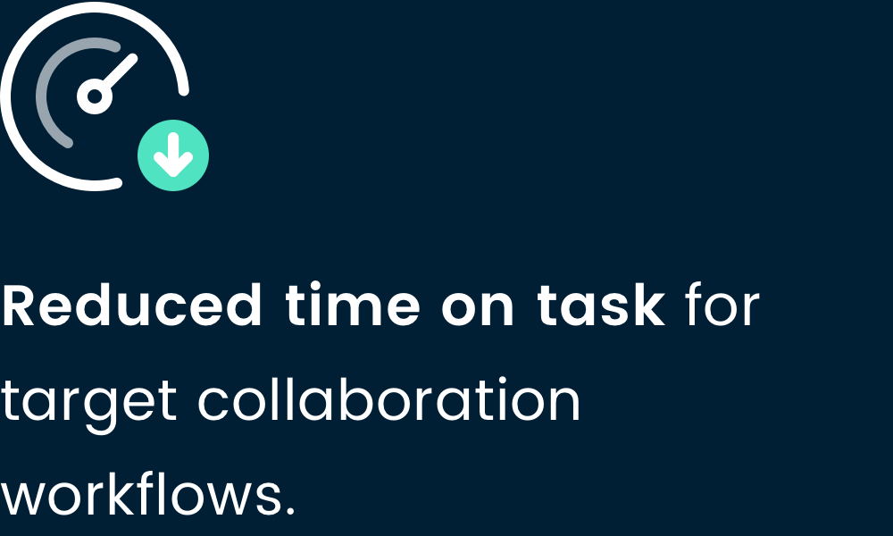 Reduce time on task-5